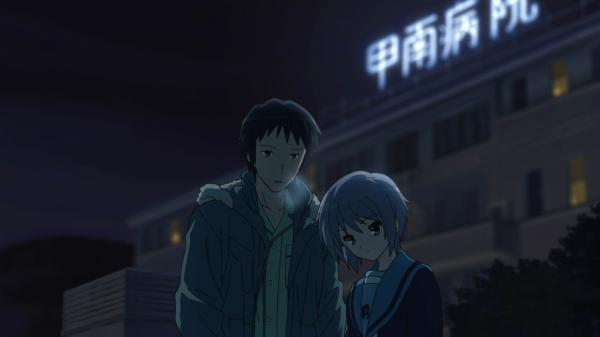 Yuki et kyon dans le froid