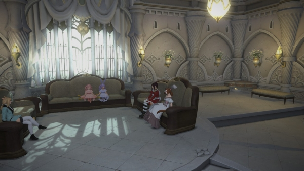 On attend avant la cérémonie du lien éternel